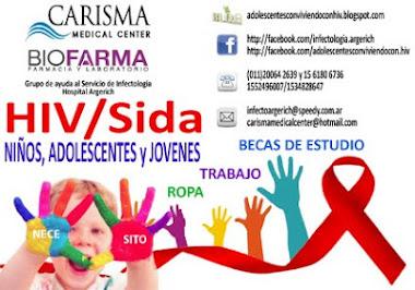 Ayudemos a niños, adolescentes y jovenes que nacieron y conviven con HIV/Sida
