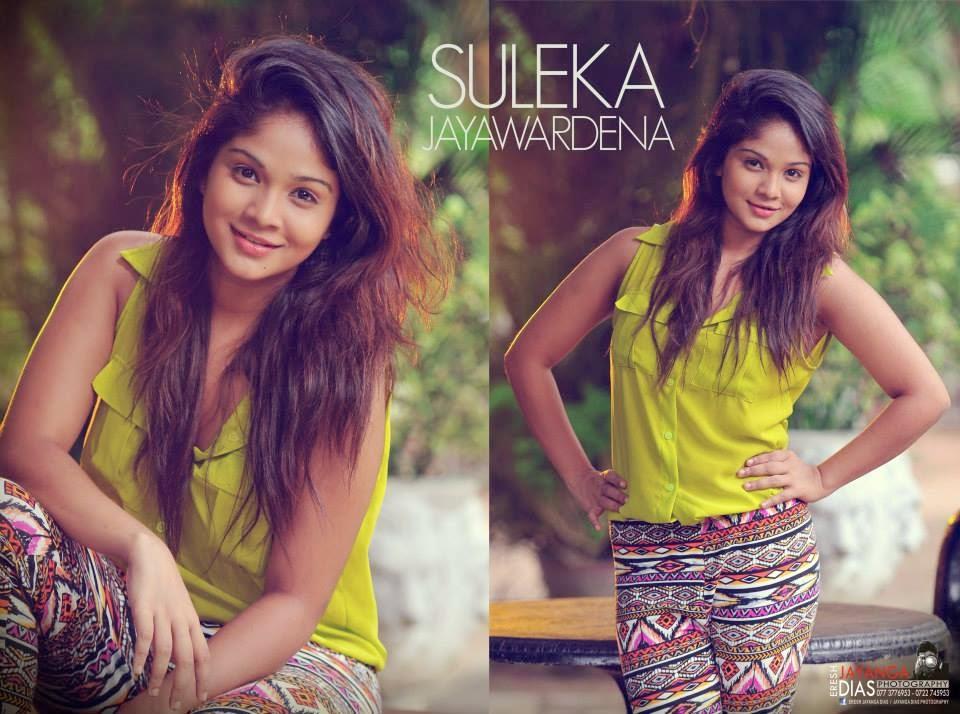 Suleka Jayawardena jeans