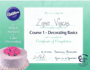 1ra Certificación wilton/ Barcelona, España