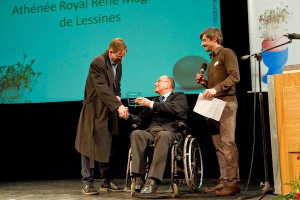 Remise du Trophée de l'Innovation en Education - Schola-ULB
