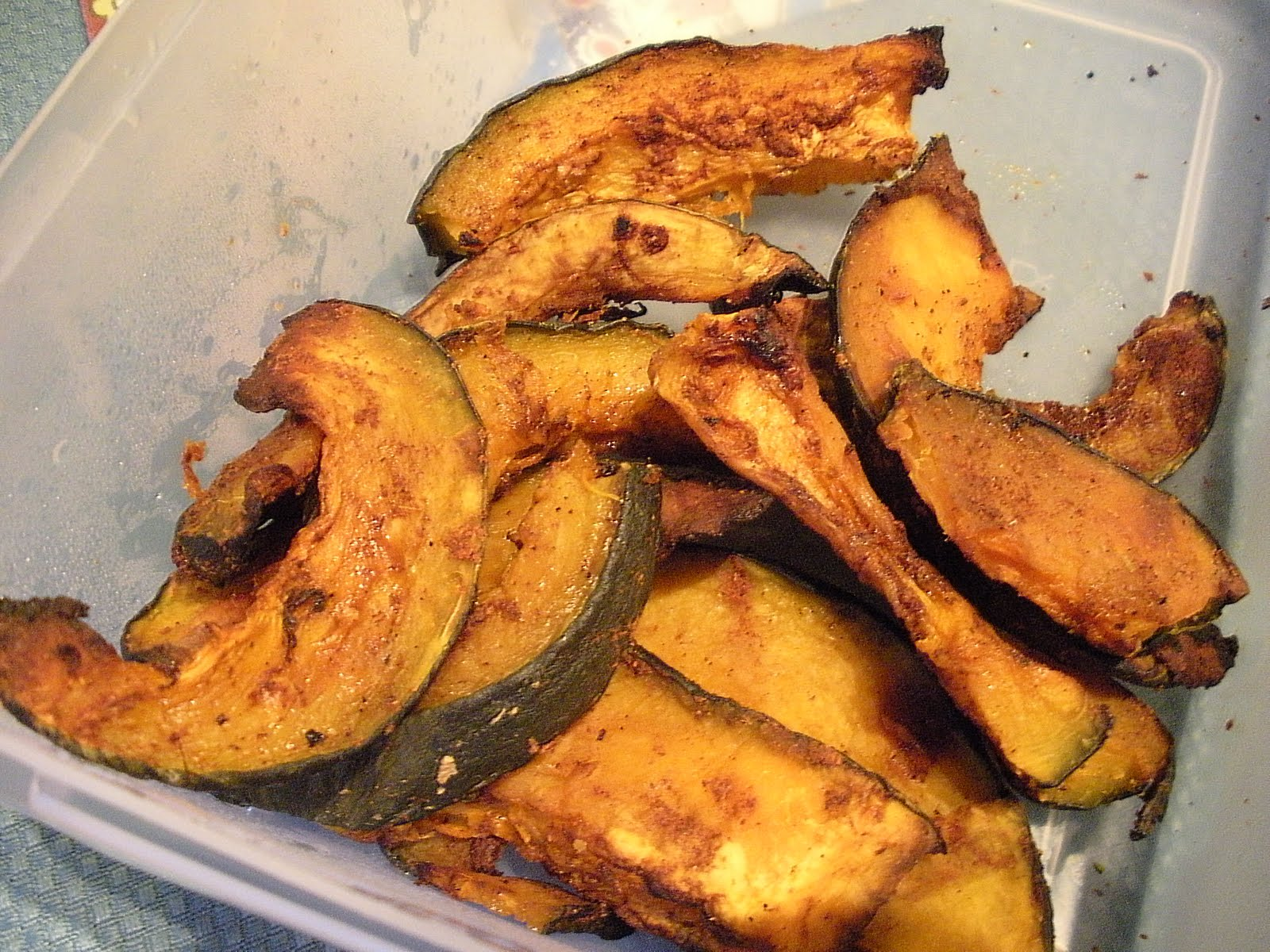 Health and Happiness in LA: Sweet and Spicy Roasted Kabocha Squash