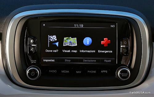 Fiat 500X Uconnect