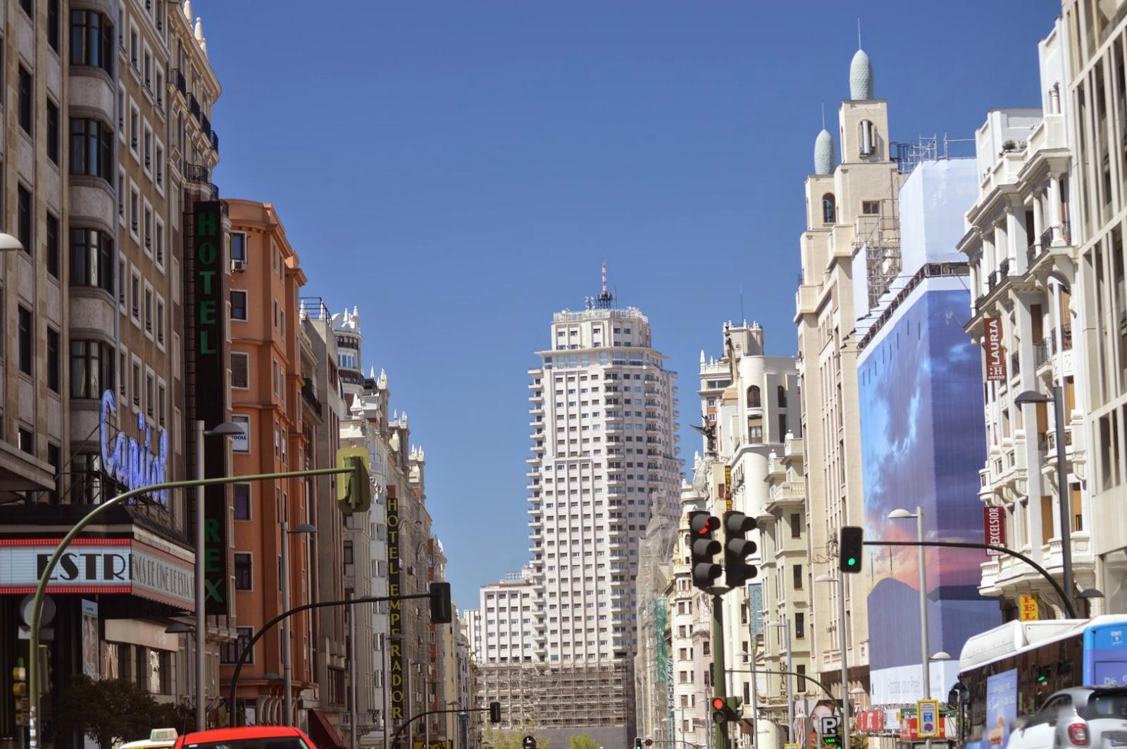 Madrid Con Ni Os Sol Plaza De Espa A Y Telef Rico Mam De D A  ~ Madrid Que Hacer Este Fin De Semana