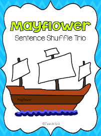 Mayflower:  Interactive Journal, Fluency, & Wtg.