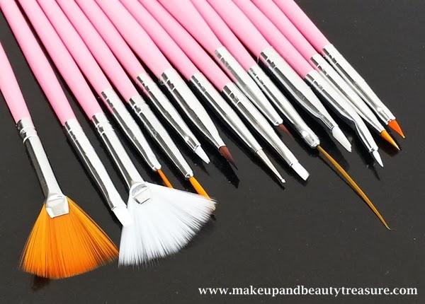 Makeup And Beauty Treasure Kkcenterhk N Nail 15 Pieces Nail Art