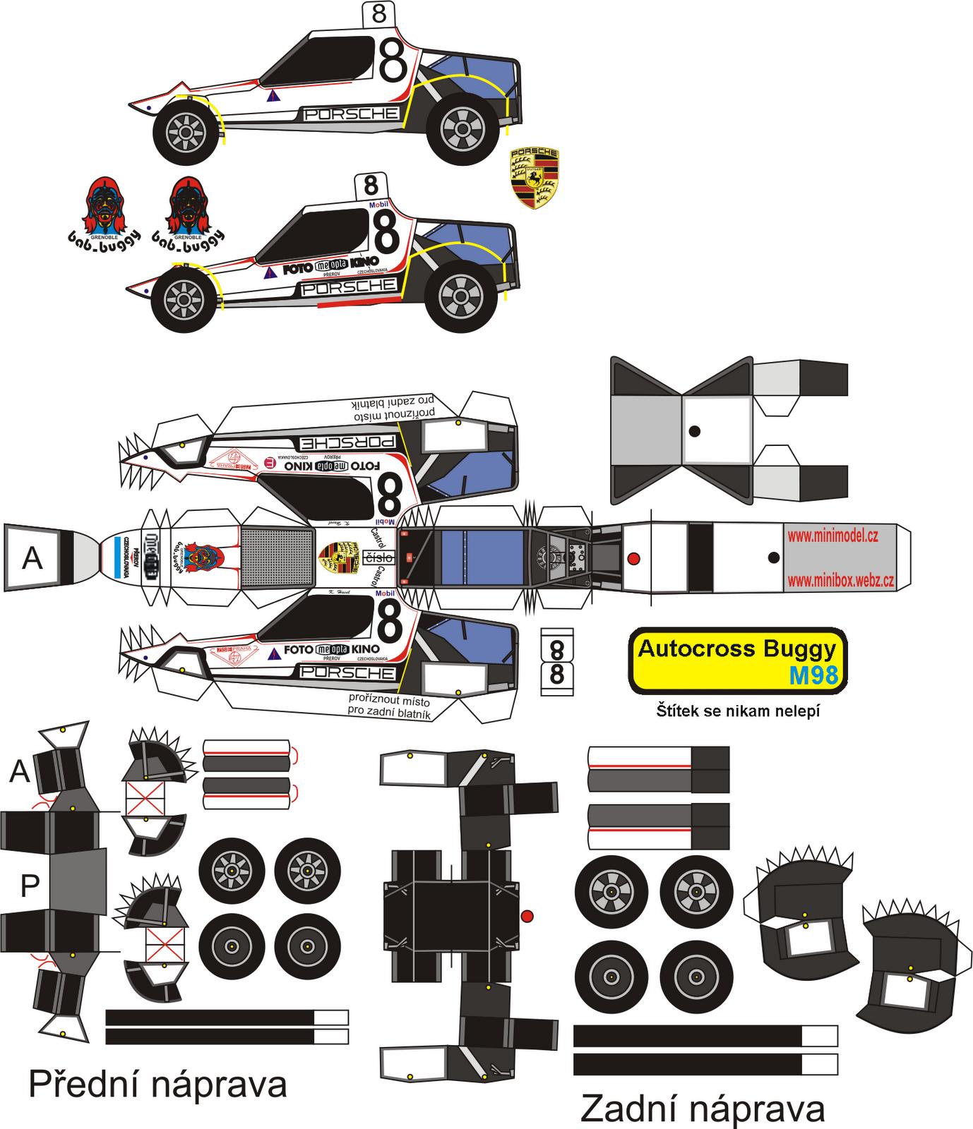 desenhos para colorir em geral autocross buggy