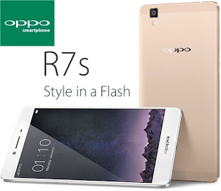 Review oppo smartphone R7S