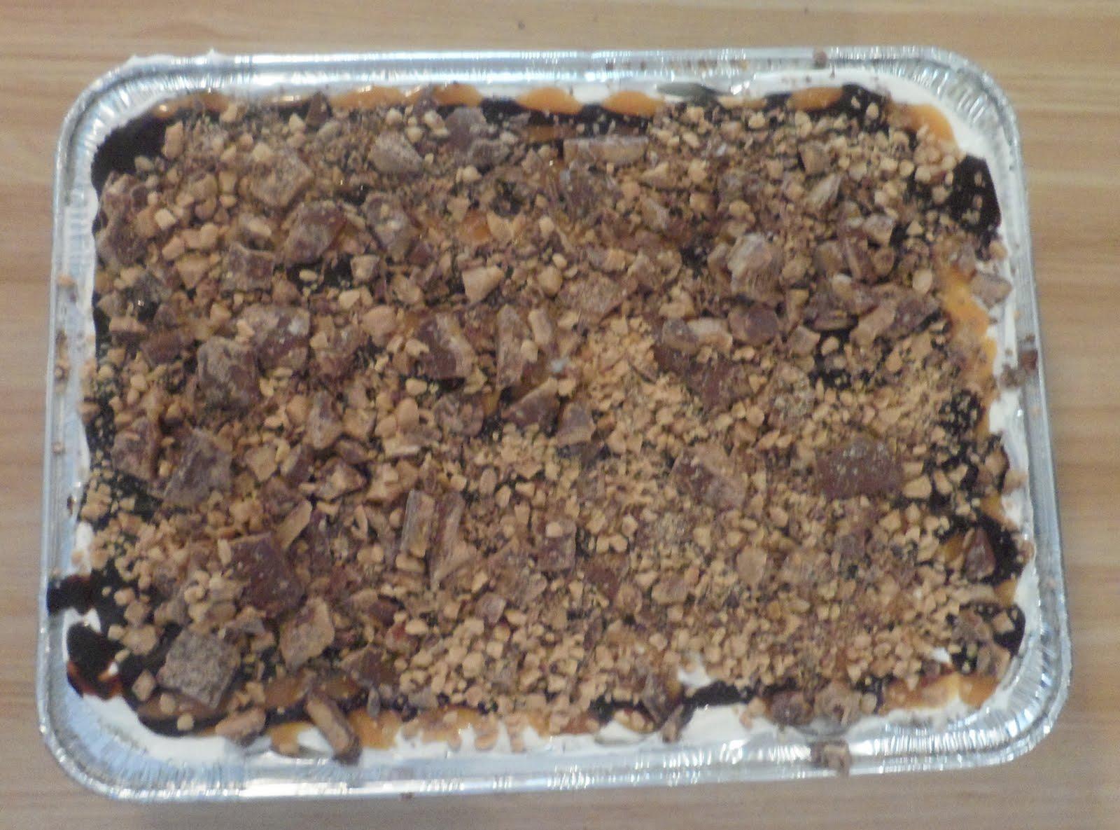 Smithalicious: Frozen Caramel-Toffee Ice Cream Sandwich Dessert
