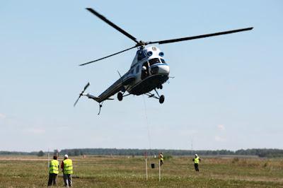 Через Керченский пролив будет летать вертолет