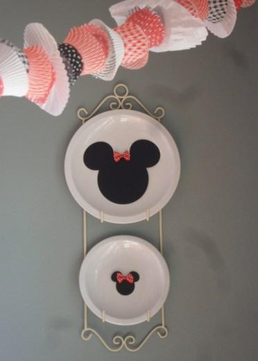 Cabeza de Minnie para decorar. Fiestas infantiles.