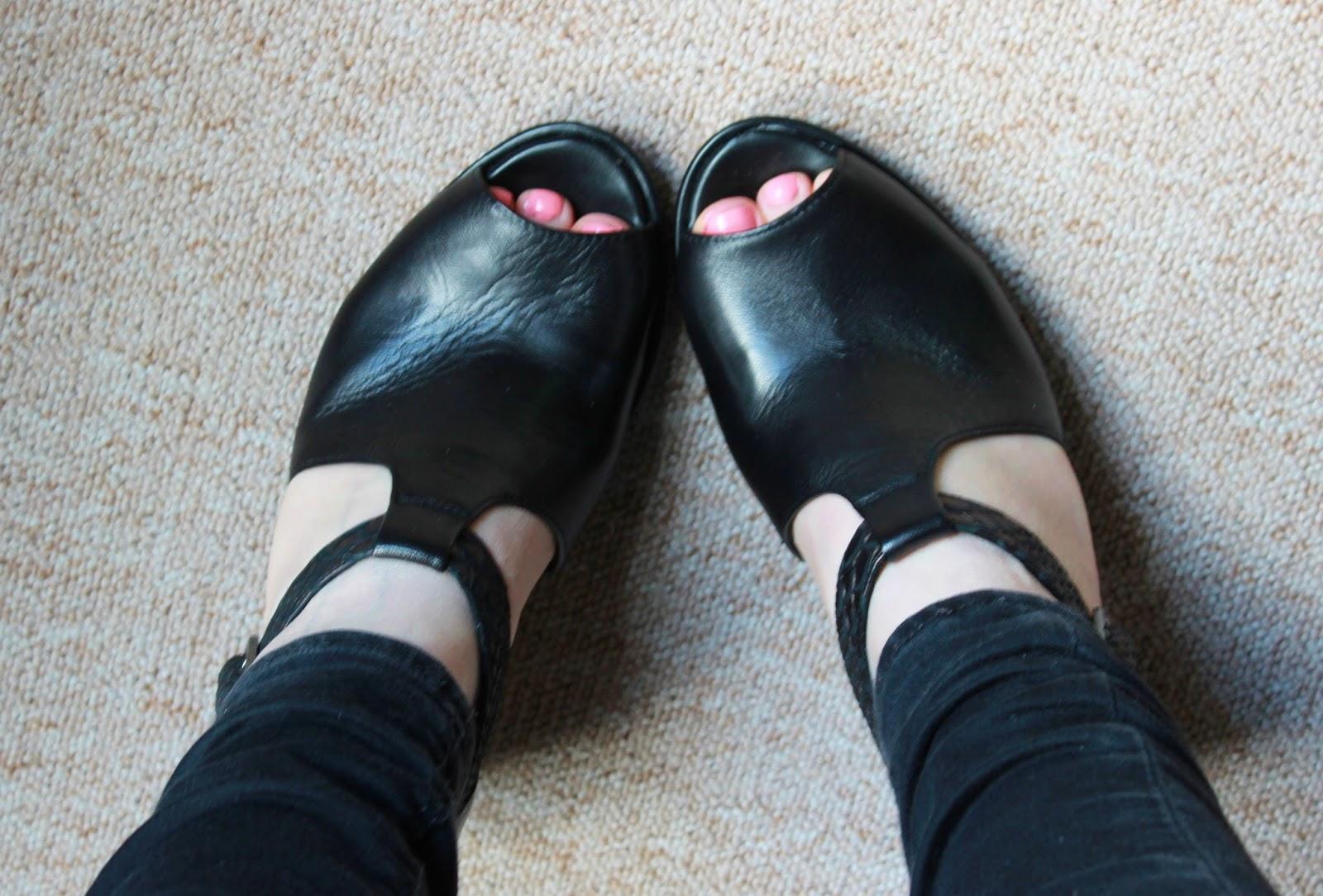 New Clarks Dulcie Meg shoes on feet