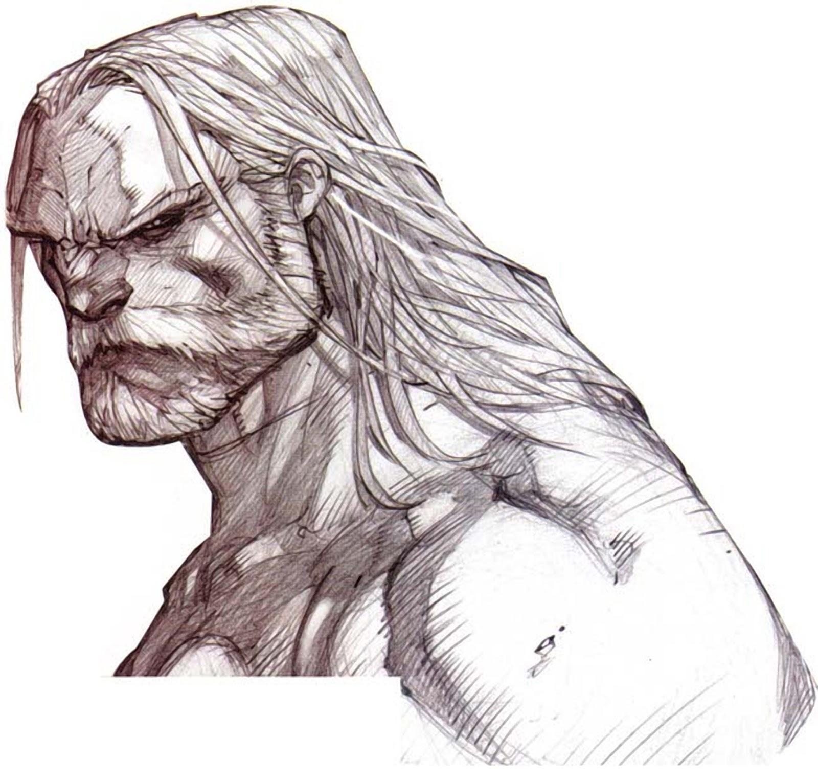 Art Of Comics And Manga: A Wolf Illustrations Blog: Joe Madureira Sketchbook