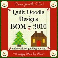 Quilt Doodle Doodles Christmas BOM