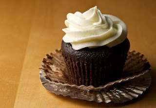 Guinness Chocolate Cake Cupcake