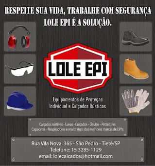 LOLE EPI Equipamentos de Proteção Individual e Calçados Rústicos