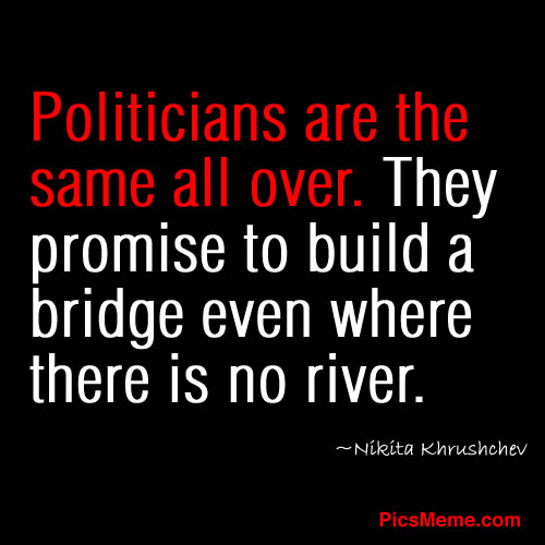 Funny Politics And Politicians Quotes Sayings