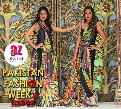 Pakistan Fashion Week 6 London Al-Zohaib Textile