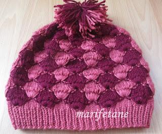 Örgü Mantar Modeli Şapka Yapilişi