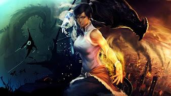 #17 Legend of Korra Wallpaper