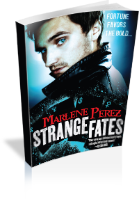 Book Cover: Strange Fates by Marlene Perez