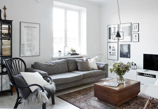 Make New Home Monochromatyczne Wn Trze Z Finlandii