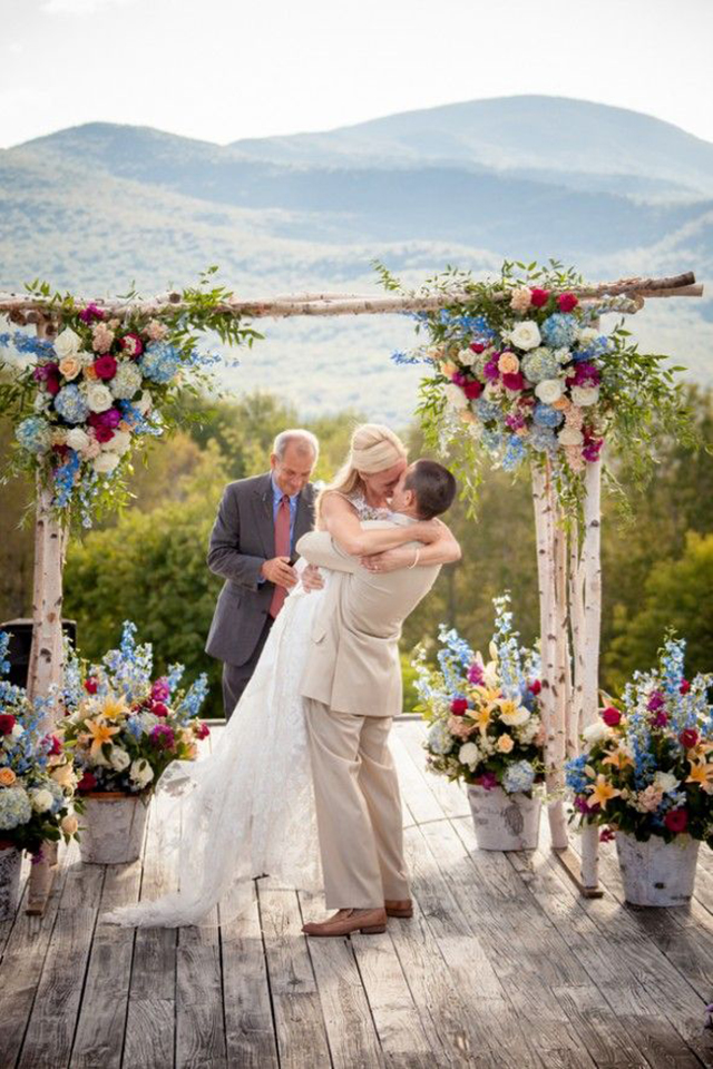 Inspiración para una boda en primavera