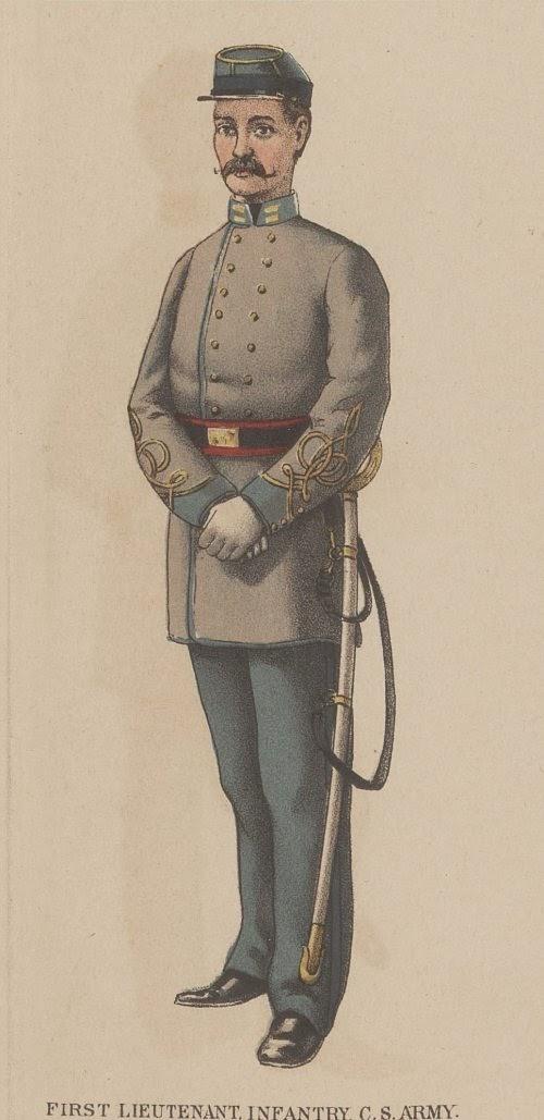 Confederate 1st Lieutenant picture 4