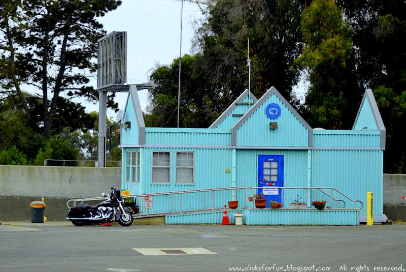 Blue building Roadside Trip Bikes