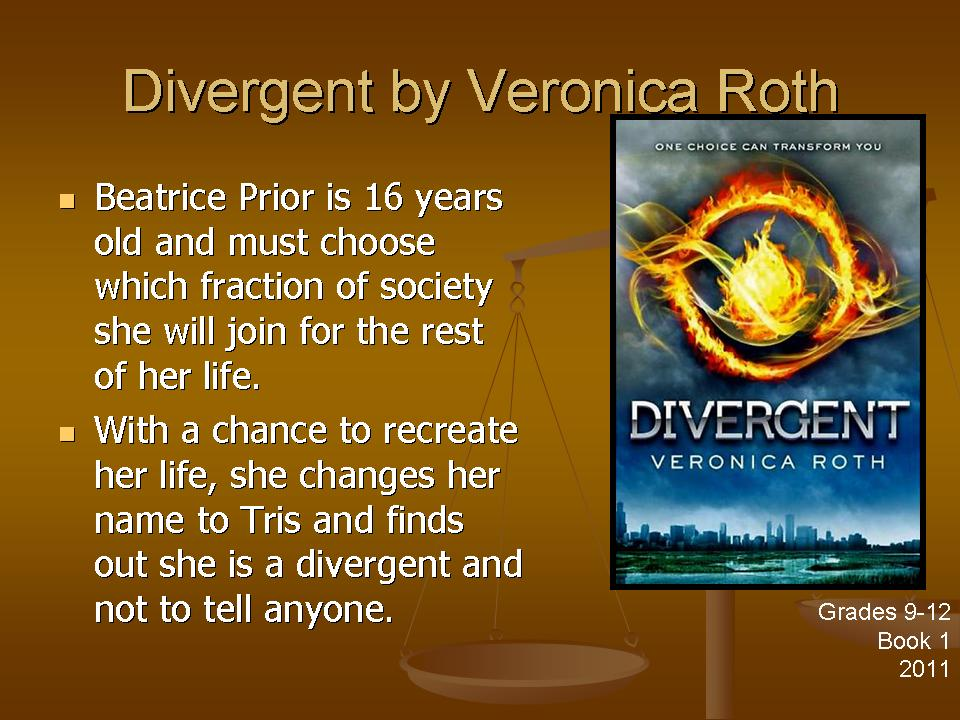 divergent by veronica roth Free download or read online divergent pdf (epub) book the first edition of this novel was published in april 25th 2011, and was written by veronica roth the book was published in multiple languages including english language, consists of 487 pages and is available in paperback format.