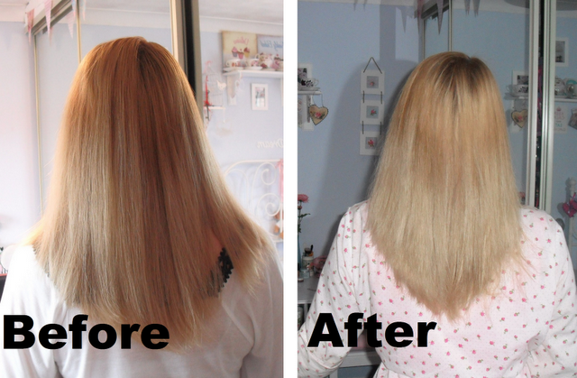 Blonde Hair Purple Shampoo Before And After
