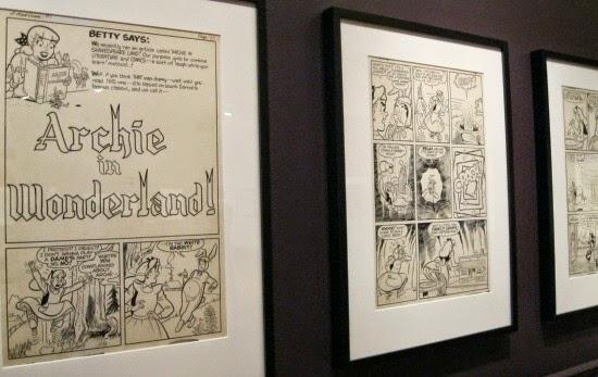 Schulz Museum Peanuts in Wonderland Archie