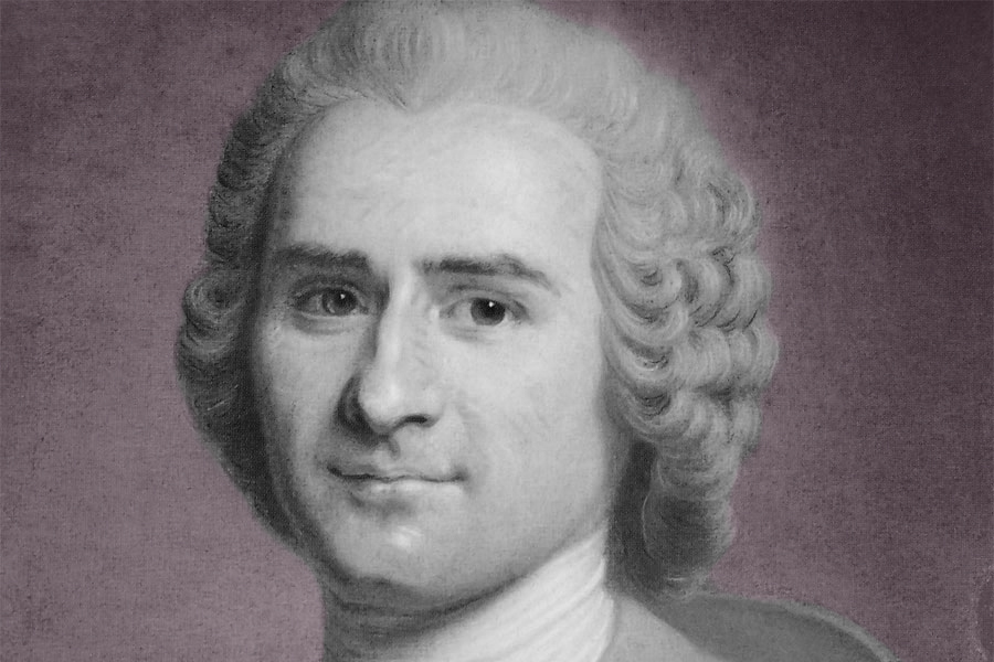 Jean Jacques Rousseau (17 April 1764)