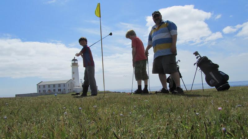 Fair Isle: Golf