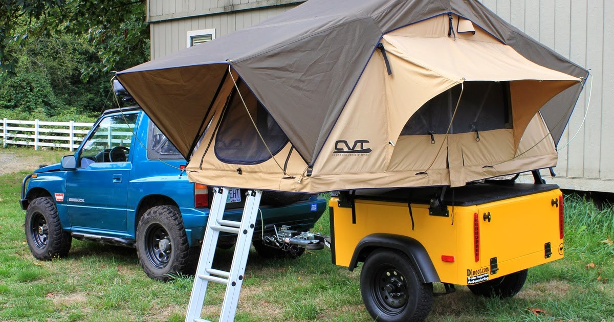 Cascadia Vehicle Tents : Review cascadia vehicle tents mt bailey roof top tent