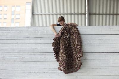 ruffle carpet by mari isopahkala