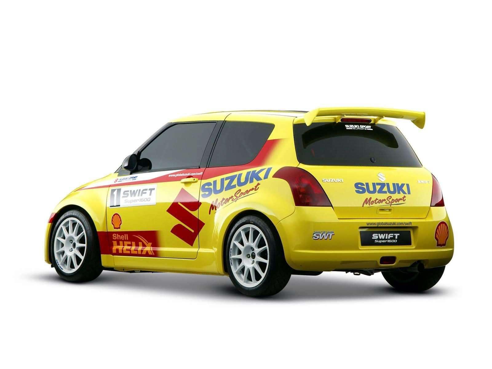 Hình ảnh xe ô tô Suzuki Swift Rally Car 2005 & nội ngoại thất