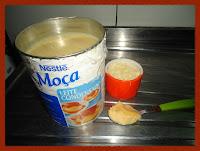 Ingredientes do docinho de queijo