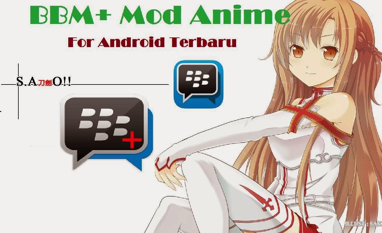 BBM+ mod Tema Anime Movie Jepang Terbaru apk