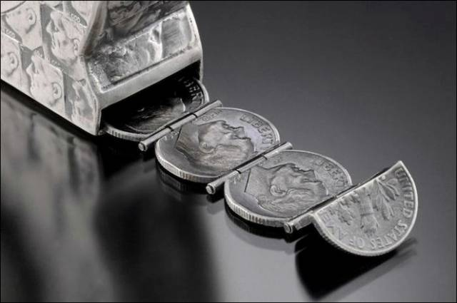 Creative Tools Made Of Coins