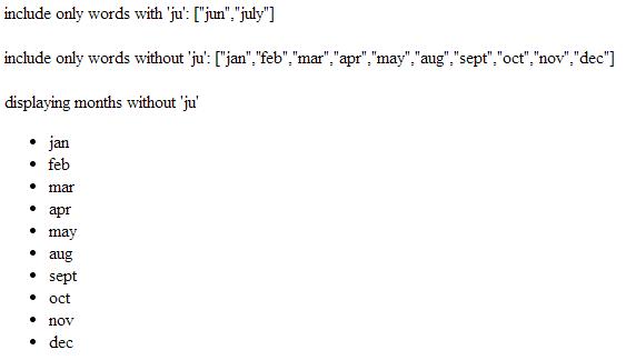 angularjs built-in filter filter example