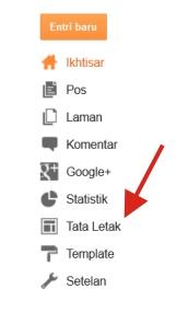 Cara Pasang Widget Lencana Google+ di Blog