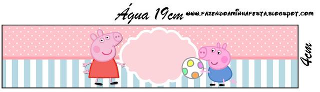 Peppa Pig: Etiquetas para Imprimir Gratis.   Ideas y material ...