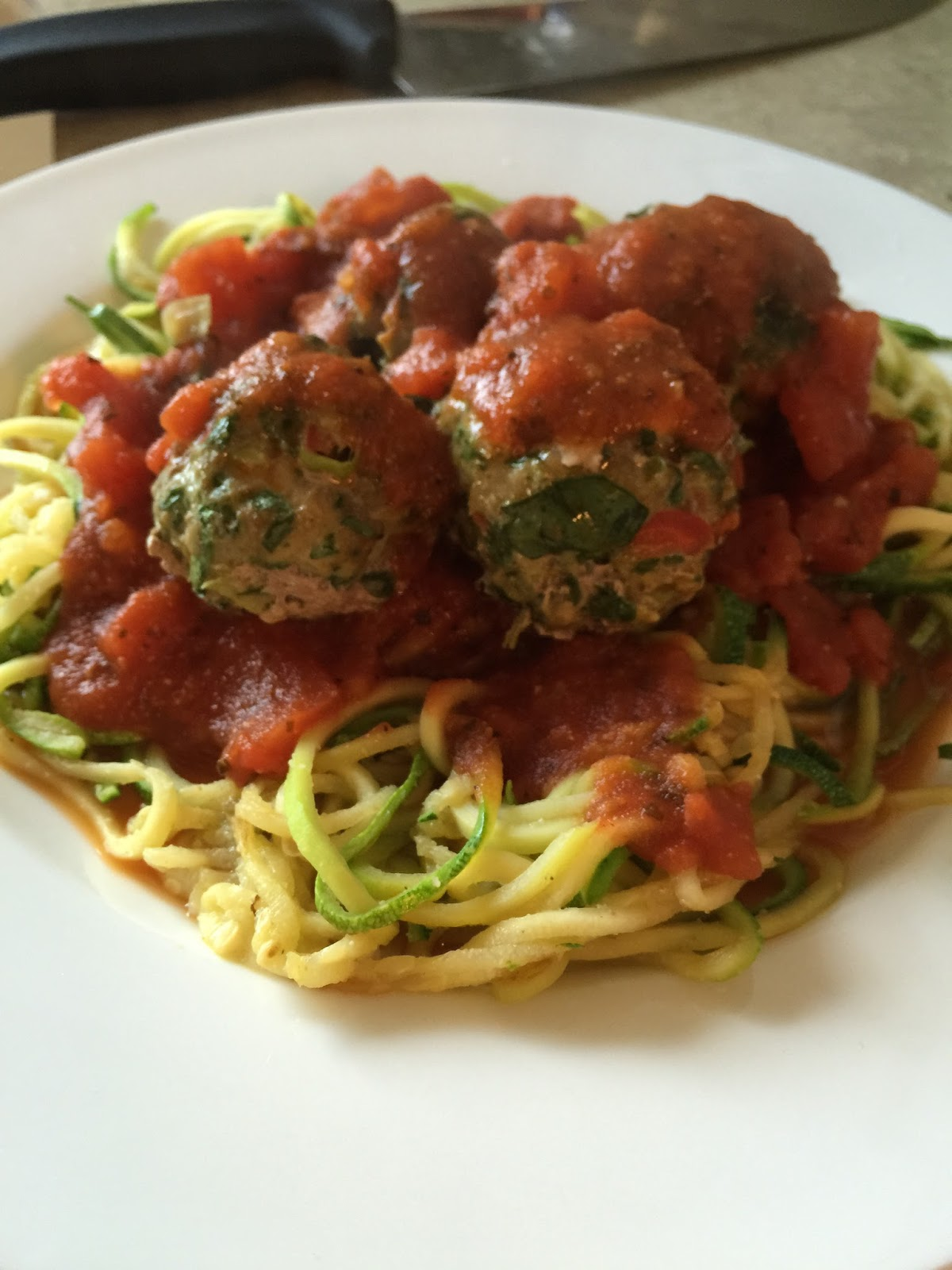 Highly experimental fmd garden meatballs with easy sauce for Zucchini noodles and meatballs recipe
