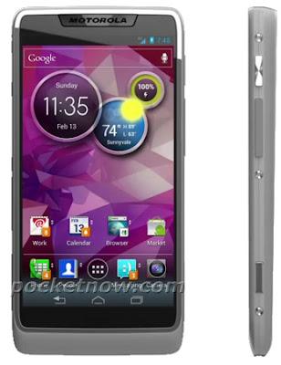 Primeira imagem de um Motorola com processador da Intel e Android 4.0