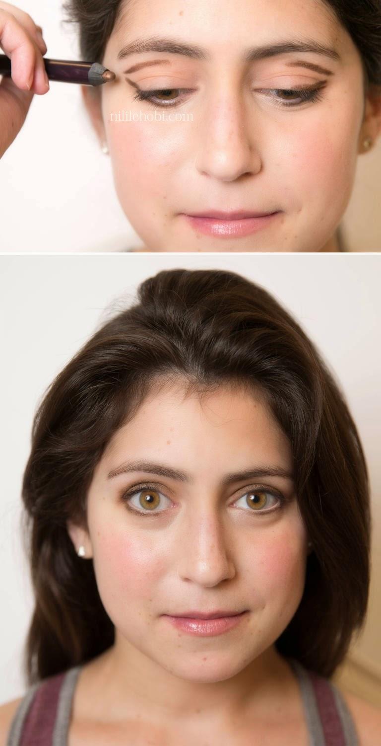 Birbirine Yakın Gözler İçin Makyaj Önerisi