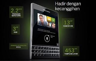 Spesifikasi Dan Harga Blackberry Passport Terbaru