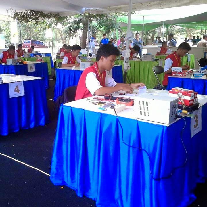Abdul Khalid Hasibuan Juara 3 LKS Tingkat Nasional Palembang