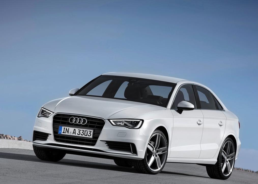 2015 Audi A5 White Sedan