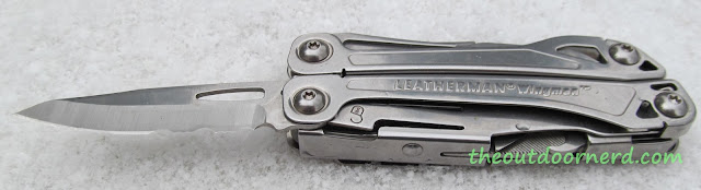 Leatherman Wingman Multi-Tool - Blade Open In the Snow