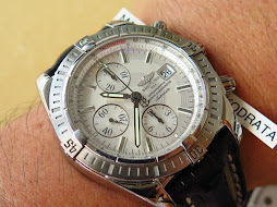 BREITLING CHRONOMAT EVOLUTION CHRONOGRAPHE CERTIFIE CHRONOMETRE WHITE DIAL 44mm - AUTOMATIC